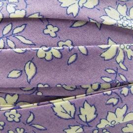 Biais Liberty Capel Violette 10 mm