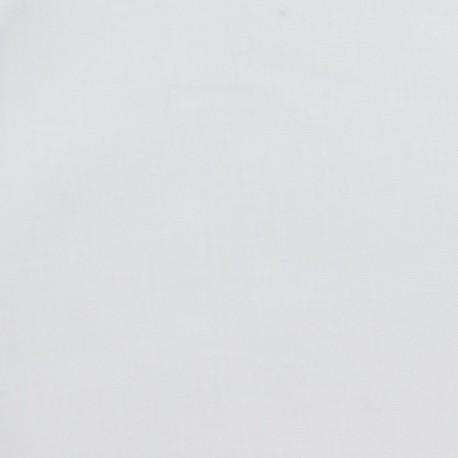 Tissu toile à buerre Normandie blanc x10cm