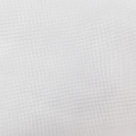 Tissu toile à broder 3 fils Romance 7.2 blanc x10cm
