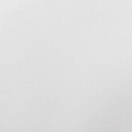 Tissu toile à broder 4 fils Romance 5.5 blanc x10cm