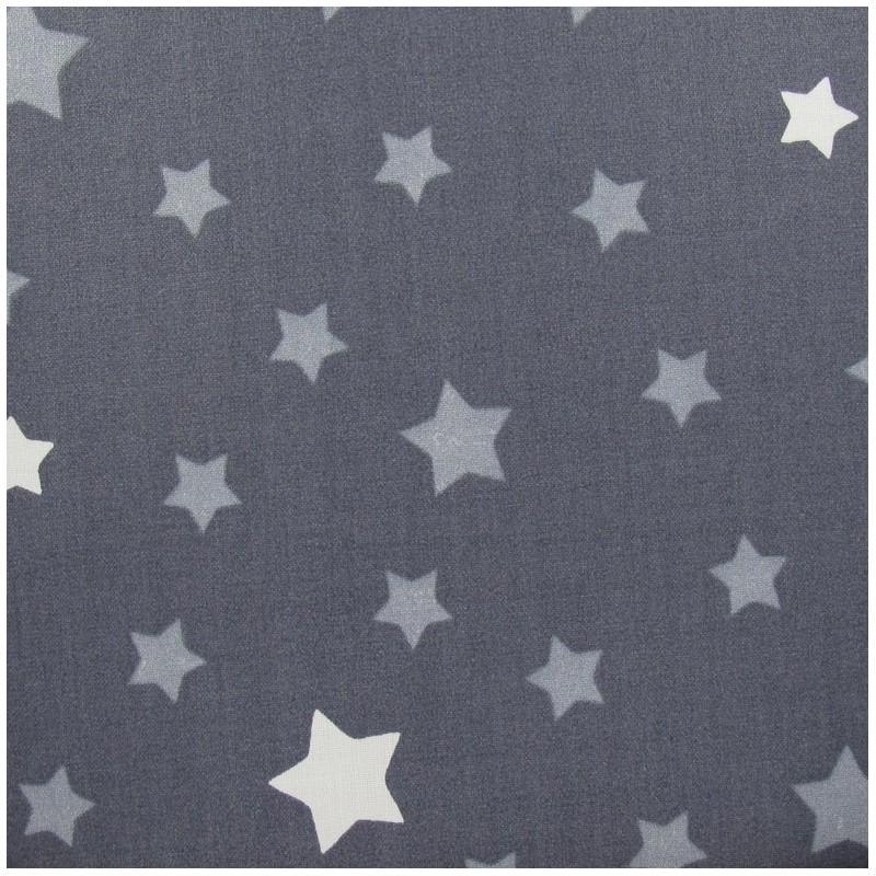 tissus pas cher tissu toile nymphea gris argent. Black Bedroom Furniture Sets. Home Design Ideas