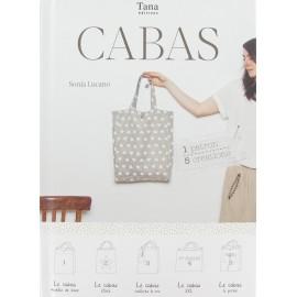 """Livre """"Cabas - 1 patron, 5 créations"""""""