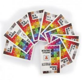 Teinture design textiles 31 couleurs au choix