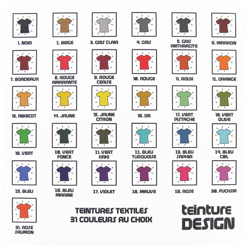 teinture design textiles 31 couleurs au choix ma petite mercerie. Black Bedroom Furniture Sets. Home Design Ideas