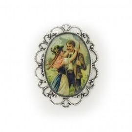 Cabochon ovale vintage