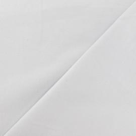 Tissu Coton uni gris clair x 10cm