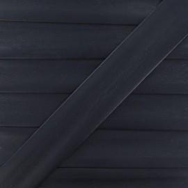 Biais simili bleu nuit 25 mm