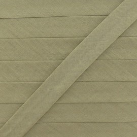 Multi-purpose-fabric Bias binding 20mm - light khaki