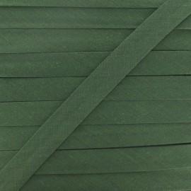 Biais Tout Textile vert militaire 20 mm