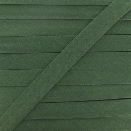 Multi-purpose-fabric Bias binding 20mm - army green