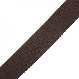 Polypropylene strap - brown
