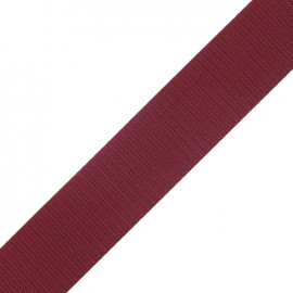 Polypropylene strap - crimson red
