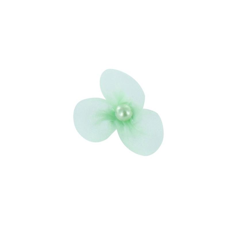 Petite fleur voile coller coudre menthe glac e ma for Glace a coller
