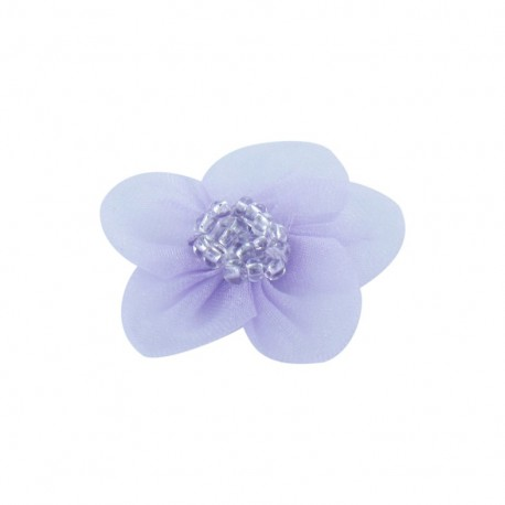 Net Flower to glue/to sew - lilac
