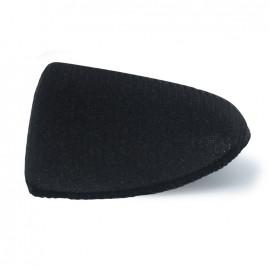 Épaulettes droite recouverte noire (x2)