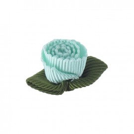 Ottomane Flower to glue/to sew - opaline-colored