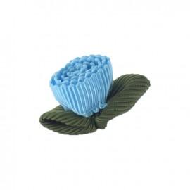 Ottomane Flower to glue/to sew - light blue
