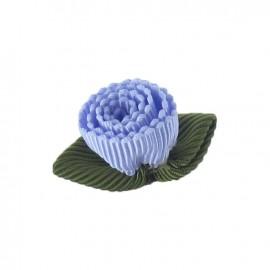 Fleur ottoman à coller/coudre lavande