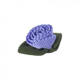 Fleur ottoman à coller/coudre parme