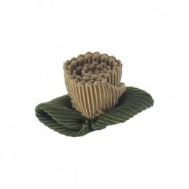 Ottomane Flower to glue/to sew - beige
