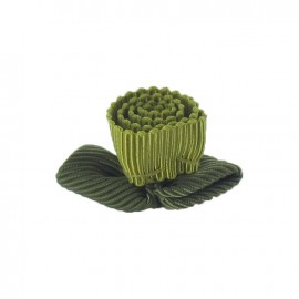 Ottomane Flower to glue/to sew - lime