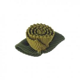 Ottomane Flower to glue/to sew - golden brown