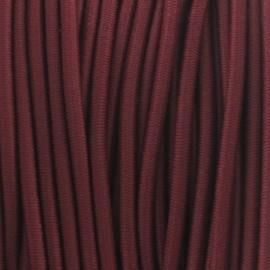 Fil élastique rond 2.5 mm pourpre