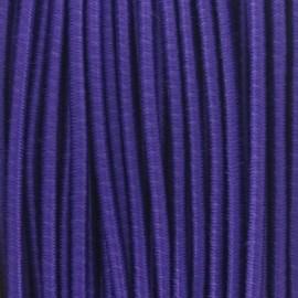 Rounded elastic thread 2,5 mm - purple