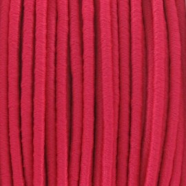 Fil élastique rond 2.5 mm fuchsia