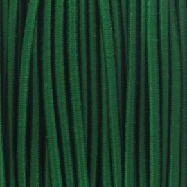 Rounded elastic thread 2,5 mm - green