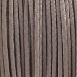 Fil élastique rond 2.5 mm beige