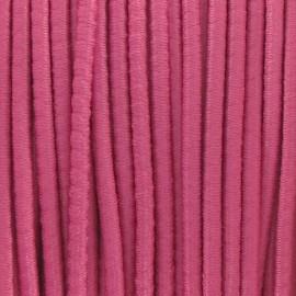 Fil élastique rond 2.5 mm rose