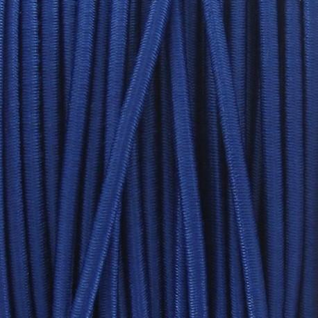 Fil élastique rond 2.5 mm bleu
