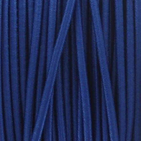 Rounded elastic thread 2,5 mm - blue