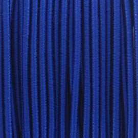 Fil élastique rond 2.5 mm bleu roy
