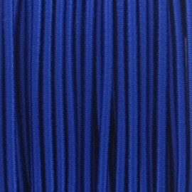 Rounded elastic thread 2,5 mm - royal blue