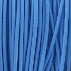 Fil élastique rond 2.5 mm bleu ciel