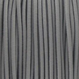 Fil élastique rond 2.5 mm gris