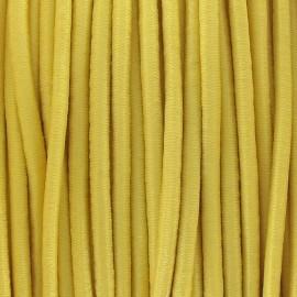 Fil élastique rond 2.5 mm jaune