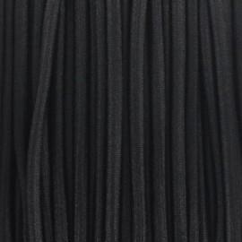Fil élastique rond 2.5 mm noir