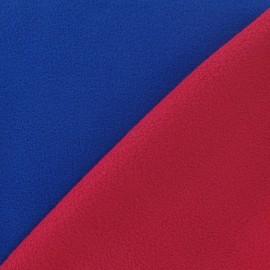 Tissu Polaire bicolore V2 fuchsia / bleu roy x 10cm