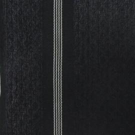 Tissu Torchon Saint Laurent noir/noir