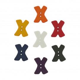 Bouton lettre X