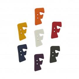 Button, Letter F