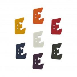 Button, Letter E