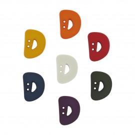 Button, Letter D