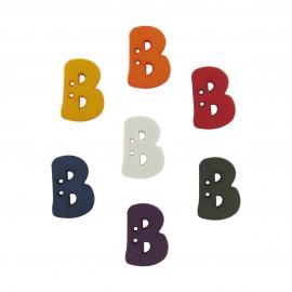 Button, Letter B