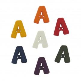 Button, Letter A
