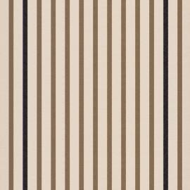 Tissu toile transat Marin Écru/Taupe (43cm) x 10cm
