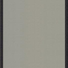 ♥ Coupon tissu 110 cm X 43 cm ♥ toile transat Uni Gris/Bord Noir (43cm)